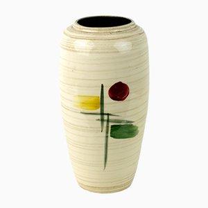 Schimmernde Italienische Mid-Century Vase