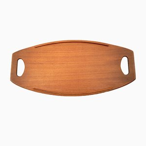 Danish Teak Tray by Jens Quistgaard for Dansk Design, 1960s