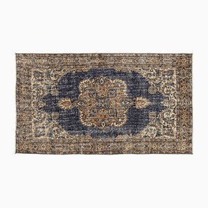 Türkischer Überfärbter Vintage Teppich, 1960er