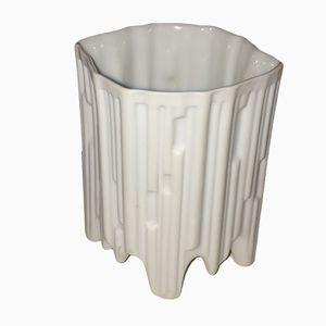 Vase Bisque Mid-Century en Porcelaine de Hutschenreuther, 1960s