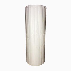 Jarrón Studio Line de porcelana blanca de Tapio Wirkkala para Rosenthal, años 70