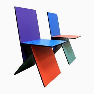Chaises Vilbert par Verner Panton pour Ikea, 1994, Set de 2