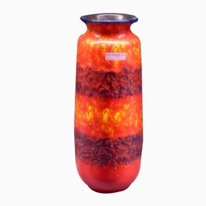Vaso vintage in ceramica di Scheurich, Germania, anni '70
