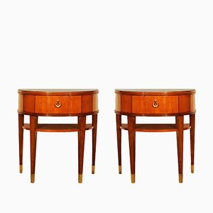 Italian Neoclassical Night Stands, 1940s, Set of 2