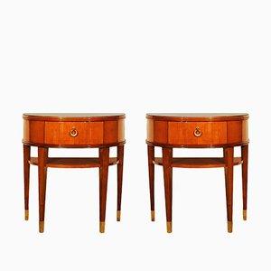 Tables de Chevet Néoclassique, Italie, 1940s, Set de 2