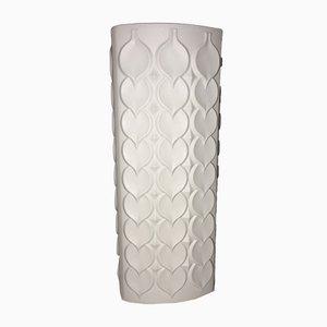 Deutsche Biskuitporzellan Vase von Alboth & Kaiser, 1960er