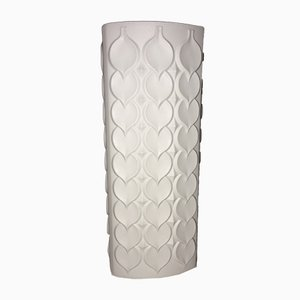 German Bisquit Relief Porcelain Vase from Alboth & Kaiser, 1960s