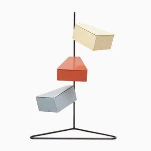 Portaoggetti da cucito minimalista, Paesi Bassi, anni '50