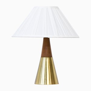 Lámpara de mesa B-07 de Bergboms, años 50