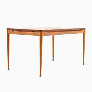 Table Basse en Teck et en Hêtre, 1950s