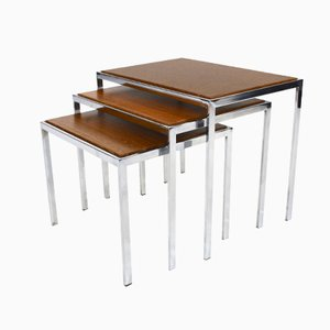 Double Sided Nesting Tables, 1960s