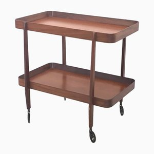 Mahogany Serving Cart, 1970s