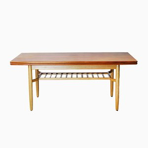 Tavolo pieghevole di Folke Ohlsson per Tingströms Bra Bohag, Svezia, anni '50
