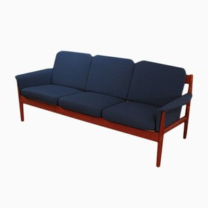 Danish Model 168 Three-Seater Sofa by Charles France for France & Son, 1960s