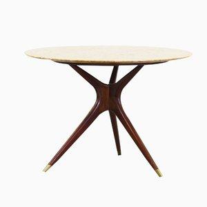 Tavolo da pranzo rotondo di Ico Parisi per Ariberto Colombo, 1949
