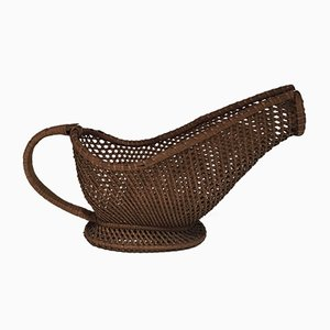 Rattan Bottle Holder, 1960s