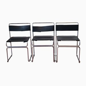 Vintage Chairs by Giovanni Carini for Planula, 1970, Set of 3