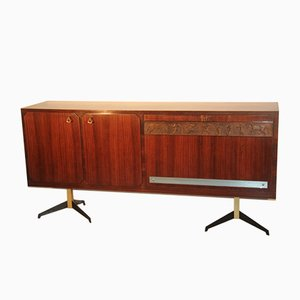 Italian Rosewood Sideboard with Bar Compartment