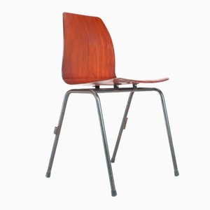 Dutch Industrial School Chair from Pagholz, 1972