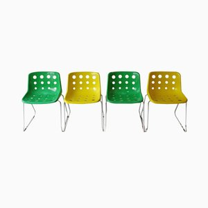 Polo Chairs by Robin Day for Hille,1976, Set of 4