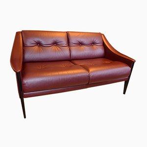 Italienisches Vintage Dezza Zwei-Sitzer Sofa von Gio Ponti für Poltrona Frau