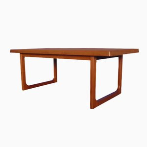 Danish Teak Coffee Table by Niels Bach, 1970s