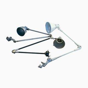 Lámparas de mesa industriales. Juego de 3