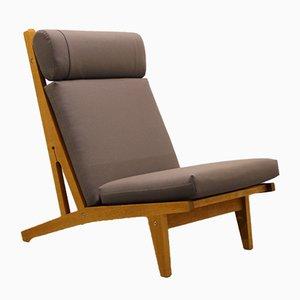 Dänischer Sessel aus Eiche von Hans J. Wegner für Getama, 1960er