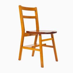 Stapelbare Englische Stühle, 1950er, 2er Set