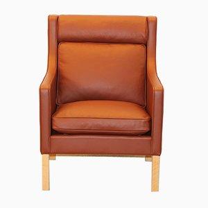 Dänischer Modell 2431 Sessel von Børge Mogensen für Fredericia Furniture
