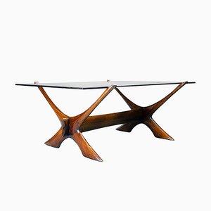 Dänischer Tisch von Illum Wikkelsø für Soren Willadsen, 1960er