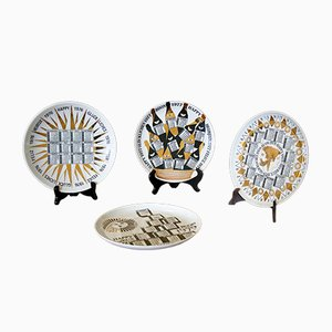Calendar Dishes by Atelier Fornasetti, Set of 26