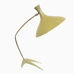 Dreibeinige niederländische Tischlampe, 1950er