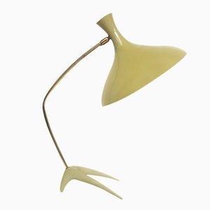 Lámpara de escritorio Tripod Crow's holandesa de Louis Kalff para Philips, años 50