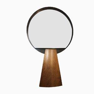 Consola italiana con espejo de Ettore Sottsas, años 70