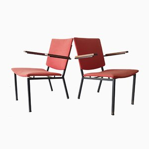 Fauteuils Vintage par Martin Visser, 1960, Set de 2