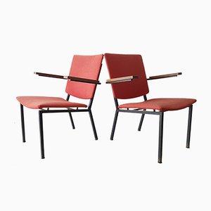Vintage Armlehnstühle von Martin Visser, 1960, 2er Set