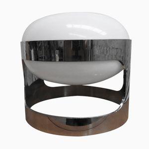 Italian Chrome KD 27 Table Lamp by Joe Colombo for Kartell, 1960s