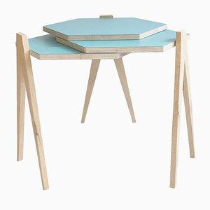 Table d'Appoint Dépliante par Studio Lorier
