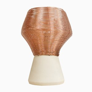 Copper Braided Side Lamp by Studio Lorier