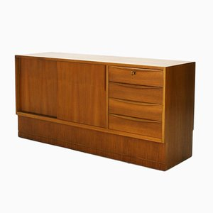 German Walnut Veneered Sideboard by Hans Hartl, 1960s