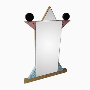 Italian Diva Mirror by Ettore Sottsass for Memphis, 1984