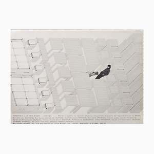 Poster Séries The Measurement par Superstudio, 1972