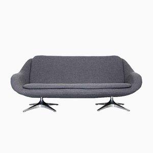 Sofá de dos plazas y media gris de Rohé Noordwolde