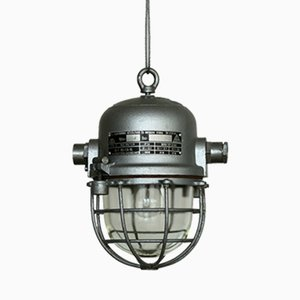 Industrial Bunker Lamp from EKA, 1960s