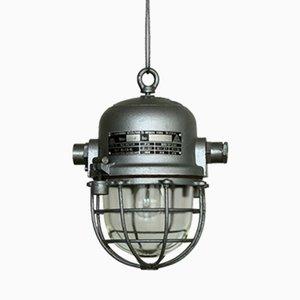 Lámpara Bunker industrial de EKA, años 60