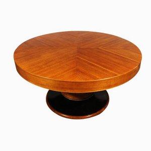 Großer Runder Spanischer Art Deco Tisch, 1930er