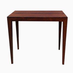Table Basse Mid-Century en Palissandre par Severin Hansen Jr. pour Haslev, 1960s