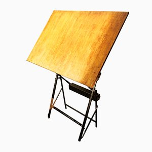 French Architect's Drawing Table from Unic Sautereau, 1960s