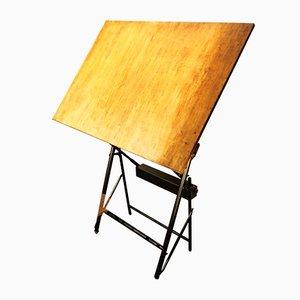 Tavolo da architetto di Unic Sautereau, Francia, anni '60